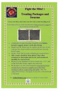 Remove mites from your packages and swarms!